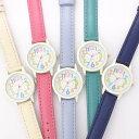 キッズ レディス カラフル ウォッチ ポスト投函発送 KDS004 チロル かわいい 腕時計 レディース 子供 女の子 男の子 カラフルインデックス 時計 5カラーズ プレゼント 贈り物