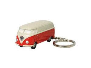 【定形外郵便発送】Volkswagen Type2 フォルクスワーゲン バス VW-BUS キーライト/レッド VWT68143【車/くるま/クルマ/自動車/ミニカー/キーホルダー/ライト付/かわいい/カワイイ/リアル/便利/おしゃ