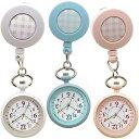 ナース ウォッチ リール クリップ GY017 キーホルダー かわいい 時計 懐中時計 おしゃれ バッグチャーム レディース …