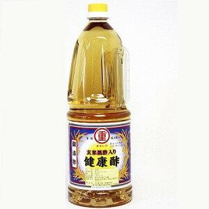 まるしげの玄米黒酢入り 健康酢(醸造酢)1.8L×1本