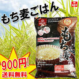 ぷちぷち食感【もち麦ごはん】800g×1袋 (はくばく)【送料無料】