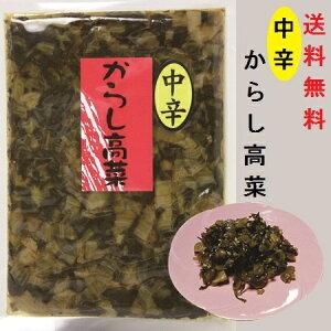 からし高菜・中辛(大薗漬物)90g×1袋【送料無料】【メール便対応】