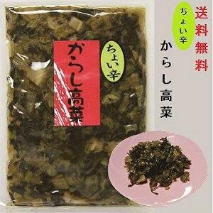 からし高菜 ちょい辛(大薗漬物)270g×1袋 【送料無料】【メール便対応】