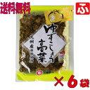 (太陽漬物)ゆずこしょう高菜120g×6袋【送料無料】