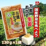 万能おかず生姜(上沖産業)130g×1袋【送料無料】