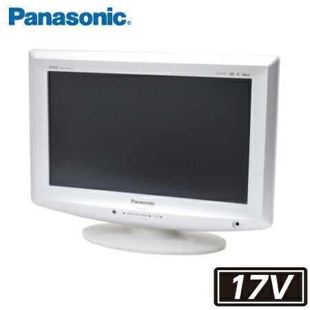 パナソニック Panasonic VIERA 液晶テレビ 中古 テレビ 17型 液晶テレビ TH-L17X10PS(TH-L17X1) 17V型 地上・BS・110度CSデジタルハイビジョン 17インチ HDMIは2系統 汎用リモコン・新品アンテナケーブル付属 付属品充実