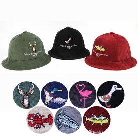 MILLITAGE Animal BUCKET HAT アニマル 動物 キャラクター バケットハット キャップ 帽子 スナップバック