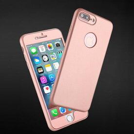 iPhone case 360 full cover iPhoneケース 360度 フルカバー 全面保護 シンプル 高級感 光沢 PC TPU アイフォン8 7 6s 6 8プラス 7プラス 6sプラス 6プラス ブランド デザインケース スマートフォンケース スマホケース スマホカバー アイフォンケース