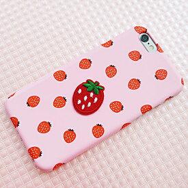 1988y iPhone design brand case strawberry ストロベリー ワッペン いちご柄 アイフォン Xs X 8 7 6s 6 8プラス 7プラス 6sプラス 6プラス ブランド デザインケース スマートフォンケース スマホケース スマホカバー アイフォンケース