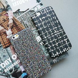 1988y iPhone design case knit tweed iPhoneケース ニット ツイード 柄 アイフォンXR Xs Max Xs X 8 7 6s 6 8 7 6s 6プラス ブランド デザインケース スマートフォンケース スマホケース スマホカバー アイフォンケース