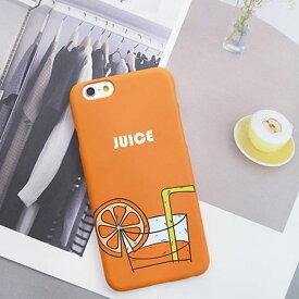1988y iPhone design case orange juice summer iPhoneケース オレンジジュース オレンジ ジュース 夏 サマー アイフォンXR Xs Max Xs X 8 7 6s 6 8 7 6s 6プラス ブランド デザインケース スマートフォンケース スマホケース スマホカバー アイフォンケース