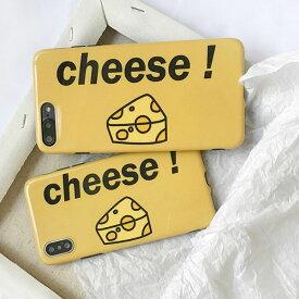 iPhone Design Case iPhone Design Case Yellow Cheese iPhone ケース イエロー チーズ イラスト ユニーク カップル 韓国 ファッション ブランド デザイン スマートフォン スマホケース スマホカバー アイフォンケース