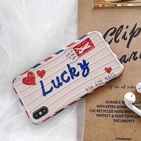iPhone design case Lucky Air Mail Travel Case ラッキー エア メール トラベル ケース 旅行 手紙 ハガキ エアー スーツケース キャリーバッグ ユニーク 可愛い 韓国 ファッション ブランド デザイン スマートフォン スマホケース スマホカバー アイフォンケース