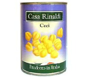 カーサ・リナルディ チェーチ(ガルバンゾー)(ひよこ豆) イタリア産 400g 缶詰