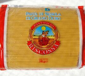 リスコッサ スパゲッティー二 (1.8mm) イタリア産 3kg