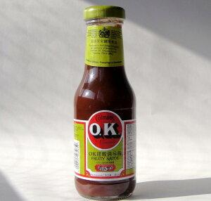 OKオーケー フルーティーソース335g/1瓶 イギリス製