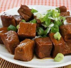 手つくり台湾滷味 滷豆干 紅焼豆腐干 約105g/1袋(サイコロ状約18個)【豆腐干の煮込み】手作り調理済【クール便・常温品と混載不可】