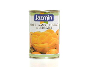 ジャスミン オレンジセグメント425g/1缶 フルーツ缶詰 スペイン産