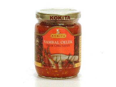 コキタ サンバルオレック250g/瓶【辛口 サンバルチリソース】インドネシア料理