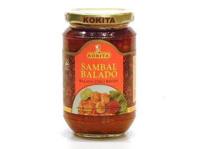 コキタ サンバルバラド350g/瓶【辛口サンバルソース】インドネシア料理