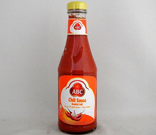ABC サンバルアスリ チリソース335ml/瓶【辛口サンバルソース】インドネシア料理