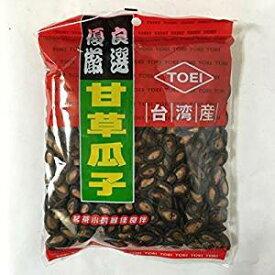 (代引不可 送料無料)東永 台湾甘草西瓜子300g×2袋 特級精選大粒 カンソウ味付け スイカの種 甘草瓜子