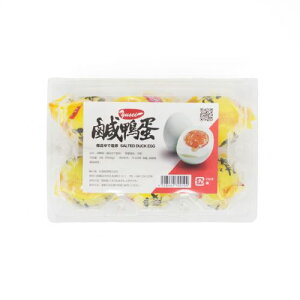 中国塩蛋 鹹鴨蛋(ゆで塩卵・鹹蛋 6個入り