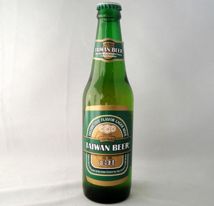 台湾ビール プレミアム(金牌)330ml/瓶・12本【中華料理に最適】