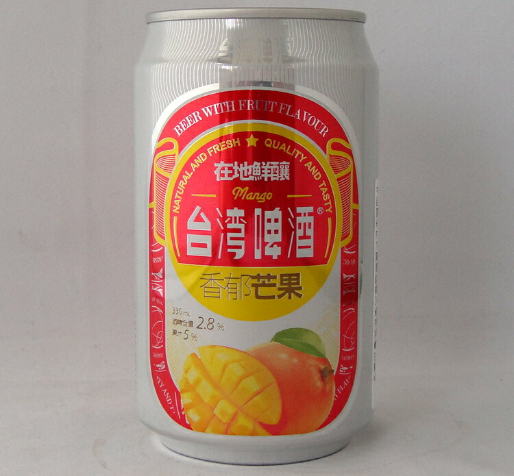 台湾マンゴービール 330ml/缶【フルーツビール 台湾ビール】
