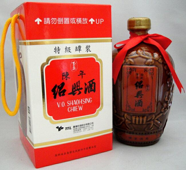 台湾特級陳年紹興酒 1・2L/壺【化粧箱入り】台湾紹興酒