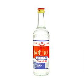 北京紅星二鍋頭 (紅高粱アルコードシュ焼酎)56度/500ml 中国酒 白酒正規輸入品