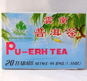 プーアル茶 ティーバッグ2.2g×20/箱・中国茶葉ティーバック
