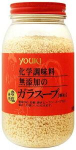有紀食品 ユウキ 化学調味料無添加の顆粒ガラスープ 400g/1本 鶏ガラ 鶏がら