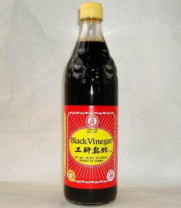 工研烏醋 600ml/瓶【黒酢 烏酢】台湾産黒醋