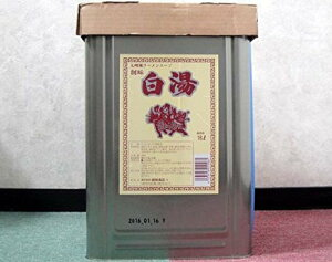 創味食品 九州風ラーメンスープの素 白湯(パイタン) 18L/缶 業務用だし