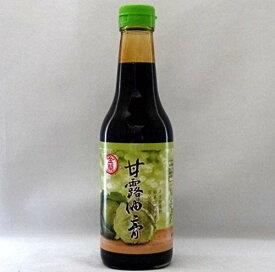金蘭 甘露油膏500ml/瓶【オーガニック台湾しょうゆ】とろみ台湾醤油膏