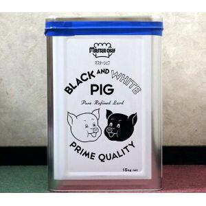 豊年リーバ ブラック&ホワイトピッグラード 15kg/一斗缶/1缶【業務用純製ラード】J-オイルミルズ日本製国産1斗缶