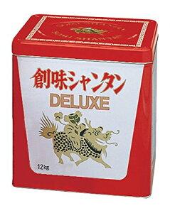 創味食品 創味シャンタンDX デラックス 12kg 一斗缶 (120)