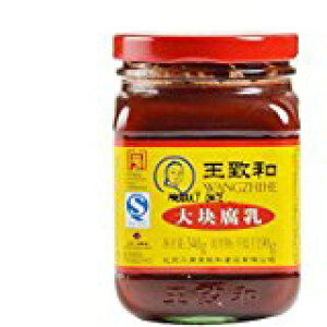 王致和 大塊豆腐乳(紅方)340g/瓶 中国産紅腐乳(廣)