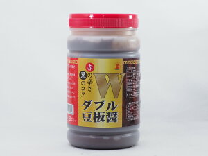 三明物産 ダブル豆板醤(ダブルトウバンジャン) 赤の辛さ、黒のコク 中国産 1kg