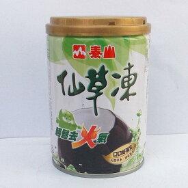 (代引不可 全国送料無料)泰山 仙草凍255g/4缶 台湾産仙草ゼリー 加糖タイプ産(混載不可)
