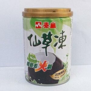【まとめ買い/代引不可】 泰山 仙草凍 (センソウゼリー) 加糖タイプ 台湾産 255g x24缶