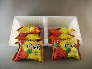 (代引不可 送料無料)九福 鳳梨酥 お試しバラ 25g×16個 台湾産パイナップルケーキ