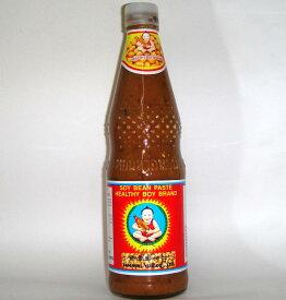 ヘルシーボーイ ソイビーンペースト800g/瓶(タオチオ タウチオ タイ味噌)タイ産
