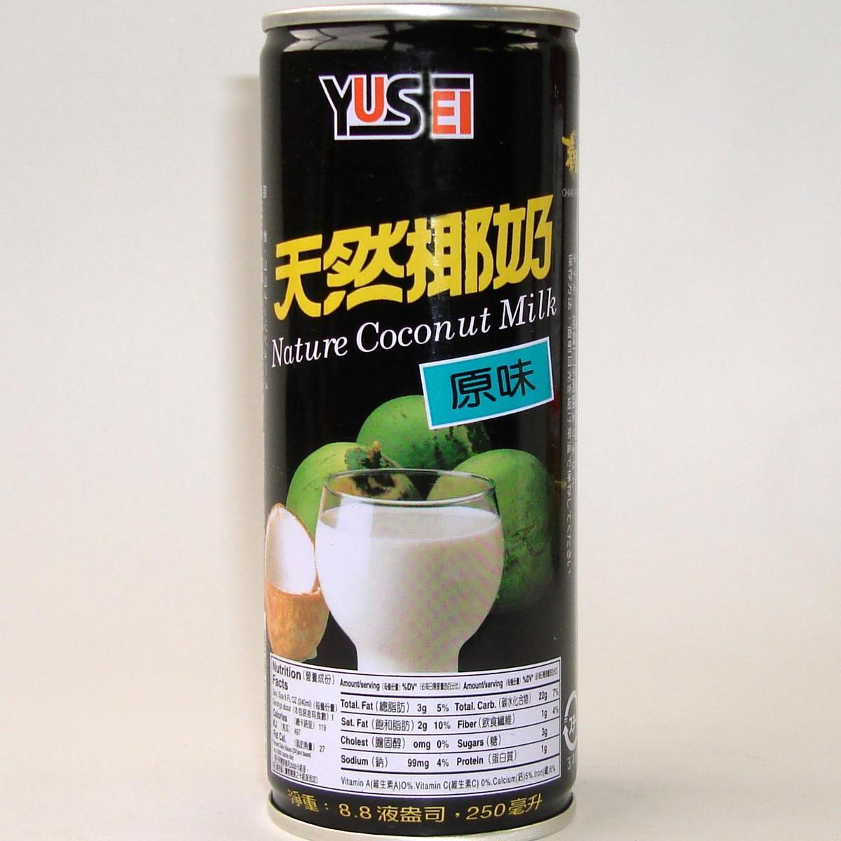 巧口牌天然椰子汁250g×30/缶詰【ココナッツジュース】台湾産