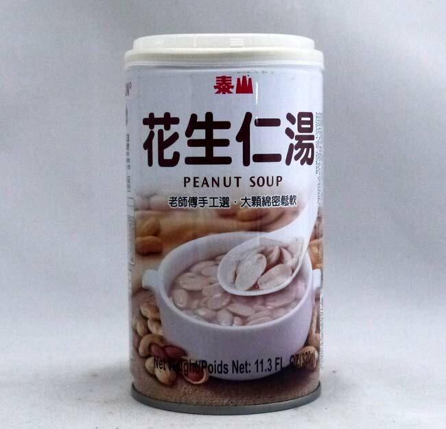 泰山花生仁湯24缶【ピーナッツスープ】台湾産