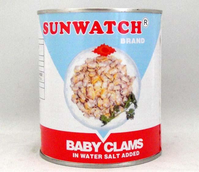 あさり水煮缶詰 剥き身だけ800g/缶【アサリむき身 ベビークラム】