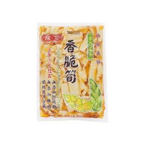 龍宏 香脆筍 (柔らか味付けメンマ) 袋詰め 台湾産 600g
