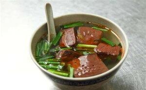 純正鴨血 300g 鴨の血 中国産 中華料理 屋台名物 火鍋の食材 粉糸湯や麻辣湯に