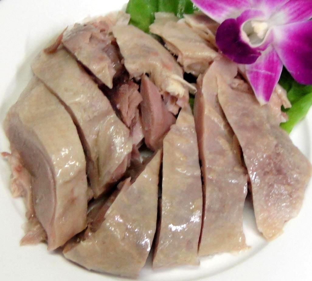 塩水鴨肉★約450g/半羽【塩味茹でかも肉 ダック】アヒル【冷凍クール便・常温品と混載不可】
